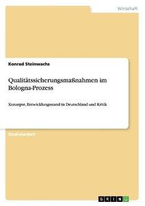 Qualitätssicherungsmaßnahmen im Bologna-Prozess