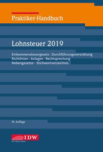 Praktiker-Handb. Lohnsteuer 2019