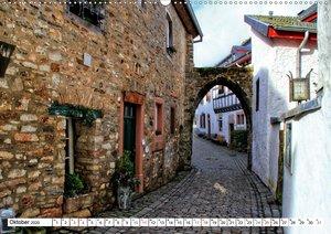 Die schönsten Orte in der Eifel - Kronenburg (Wandkalender 2020