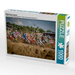 CALVENDO Puzzle MXGP Start Lommel 1000 Teile Lege-Größe 64 x 48