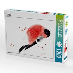 Dompfaff 1000 Teile Puzzle hoch