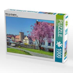 CALVENDO Puzzle Blick zum Bergfried 1000 Teile Lege-Größe 64 x 4