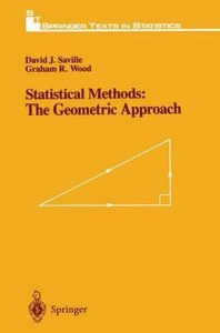 Statistical Methods: The Geometric Approach