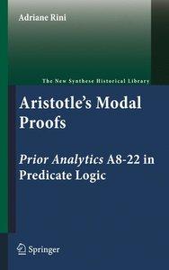 Aristotle's Modal Proofs