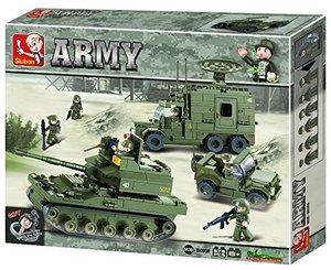 Sluban ARMY M38-B0308 - Elitestreitkräfte Set, 578 Teile