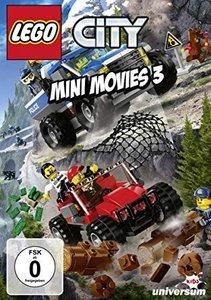 LEGO City Mini Movies. Tl.3, 1 DVD