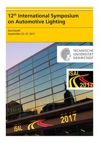 12th International Symposium on Automotive Lightning - ISAL 2017