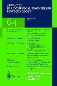 Thermal Biosensors Bioactivity Bioaffinity