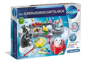 Das Superwissenschaftslabor (Experimentierkasten)