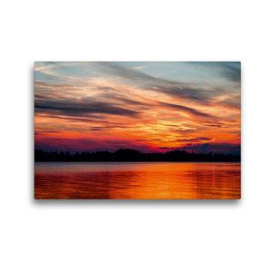 Premium Textil-Leinwand 45 cm x 30 cm quer Wolkenstimmung Sommer