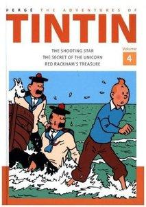 TINTIN ADVENTURES OF VOL 4 HB