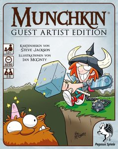 Pegasus 17231G - Munchkin Guest Artist Edition, McGinty-Version,
