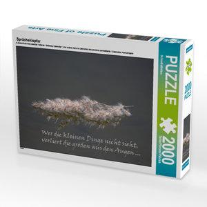 Sprücheklopfer 2000 Teile Puzzle quer