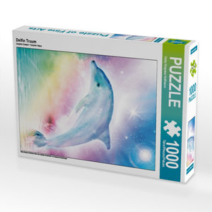 Delfin Traum 1000 Teile Puzzle hoch