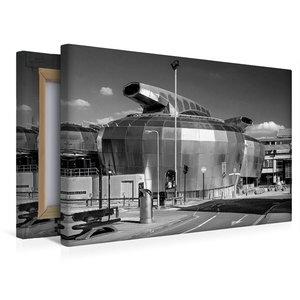 Premium Textil-Leinwand 45 cm x 30 cm quer Neue Universität in S