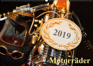 Motorräder (Wandkalender 2019 DIN A2 quer)