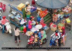 Märkte in Asien (Wandkalender 2020 DIN A2 quer)