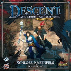 Asmodee FFGD1323 - Descent 2. Edition: Schloss Rabenfels, Erweit