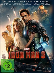 Iron Man 3 (2 Disc Limited Edition im Steelb (DVD)
