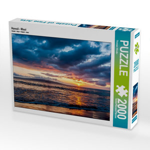 Hawaii - Maui 2000 Teile Puzzle quer