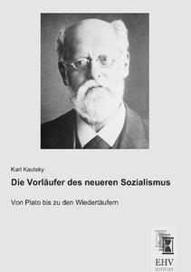Die Vorläufer des neueren Sozialismus