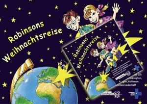 Robinsons Weihnachtsreise. Kalender mit Audio-CD