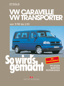 So wird's gemacht. T4: VW Caravelle / Transporter / Multivan / C