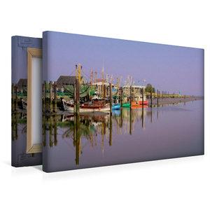 Premium Textil-Leinwand 45 cm x 30 cm quer the RGB Boat
