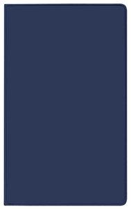 Taschenkalender Saturn Leporello PVC blau 2018