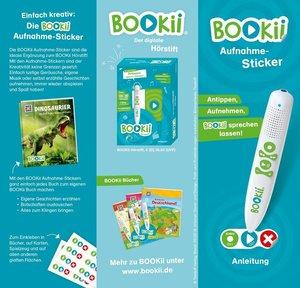 120 BOOKii® Aufnahme-Sticker neutral Paket 3, Nr. 247-366
