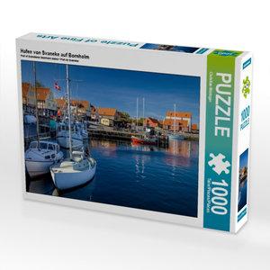 Hafen von Svaneke auf Bornholm 1000 Teile Puzzle quer