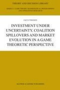 Investment under Uncertainty, Coalition Spillovers and Market Ev