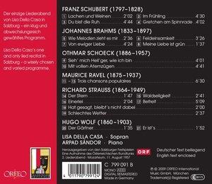 Salzburger Liederabend 1957