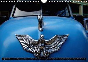 Auto-Juwelen - Kühlerfiguren in Kuba (Wandkalender 2017 DIN A4 q