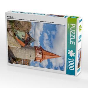 Marktbreit 1000 Teile Puzzle hoch