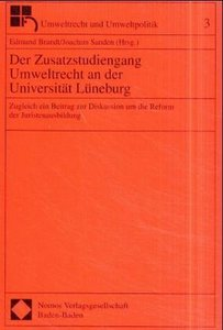 Der Zusatzstudiengang Umweltrecht an der Universität Lüneburg