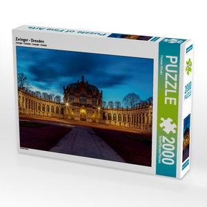 Zwinger - Dresden 2000 Teile Puzzle quer