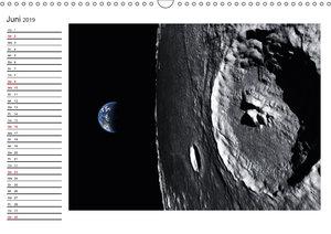 Mond Orbitalansichten (Wandkalender 2019 DIN A3 quer)