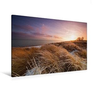 Premium Textil-Leinwand 120 cm x 80 cm quer Winterlicht