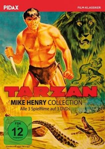 Tarzan - Mike Henry Collection, 3 DVD