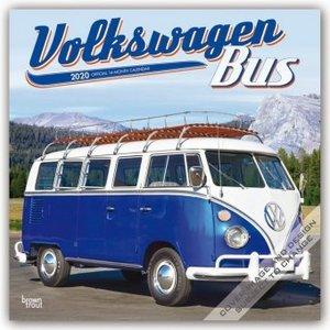 Volkswagen Bus - VW Transporter 2020 - 18-Monatskalender