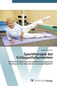 Sporttherapie bei Schlaganfallpatienten