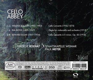 Cello Abbey-Werke für Cello und Orchester