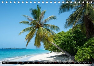 Malediven - echt - bunt - anders (Tischkalender 2019 DIN A5 quer