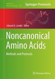 Noncanonical Amino Acids
