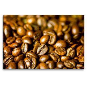 Premium Textil-Leinwand 120 cm x 80 cm quer Kaffee