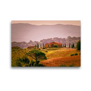 Premium Textil-Leinwand 45 cm x 30 cm quer Toskana