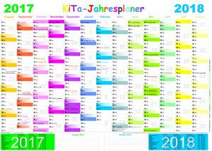 KiTa-Jahresplaner-Set 2017/2018