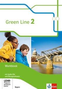 Green Line. Workbook mit 2 Audio-CDs und Übungssoftware. 6. Schu