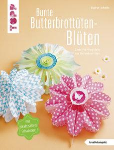 Bunte Butterbrottütenblüten (kreativ.kompakt.)